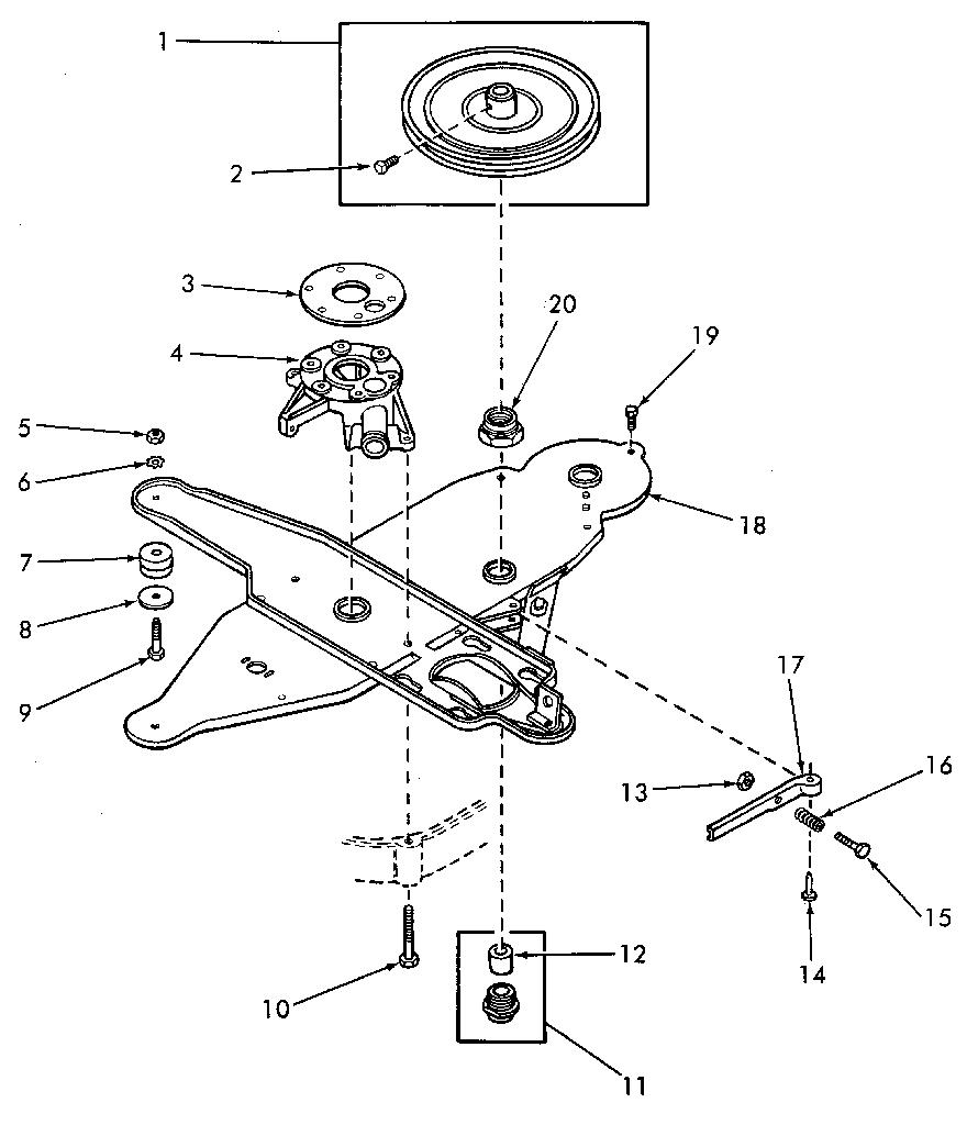 KENMORE Wringer Washer Skirt, legs and tub gaske Parts