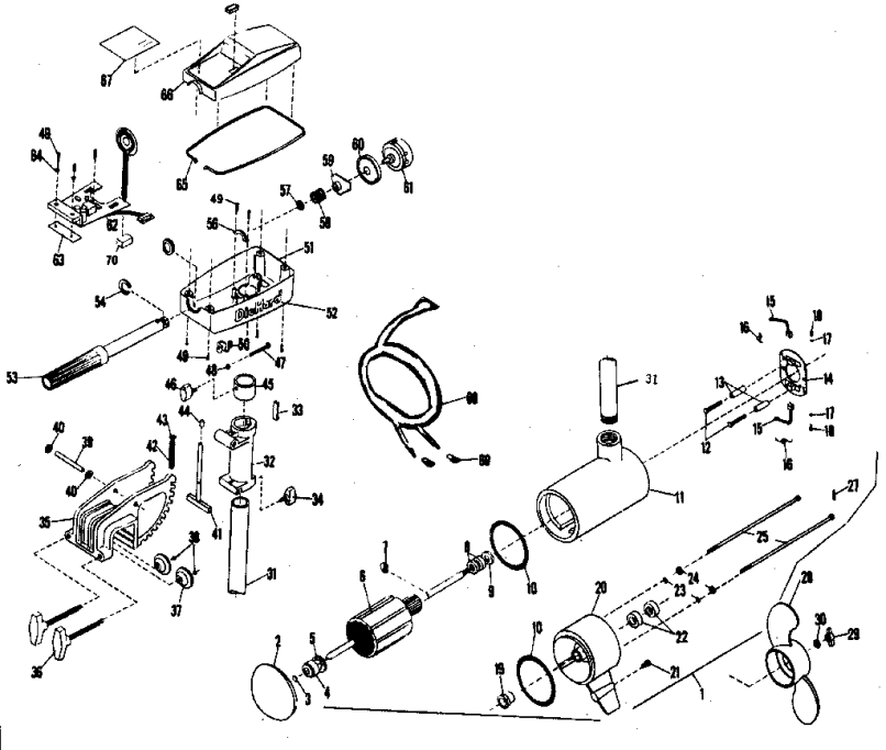Marathon Electric Motor Parts Diagram