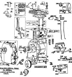 3hp brigg stratton lawn mower carburetor diagram [ 1024 x 1024 Pixel ]