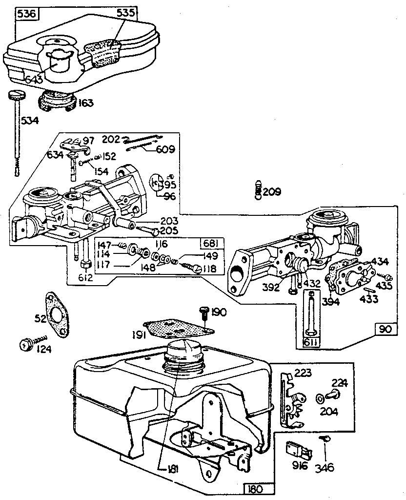 medium resolution of briggs and stratton 3hp governor spring diagram wiring diagram schwrg 9423 3 hp briggs and