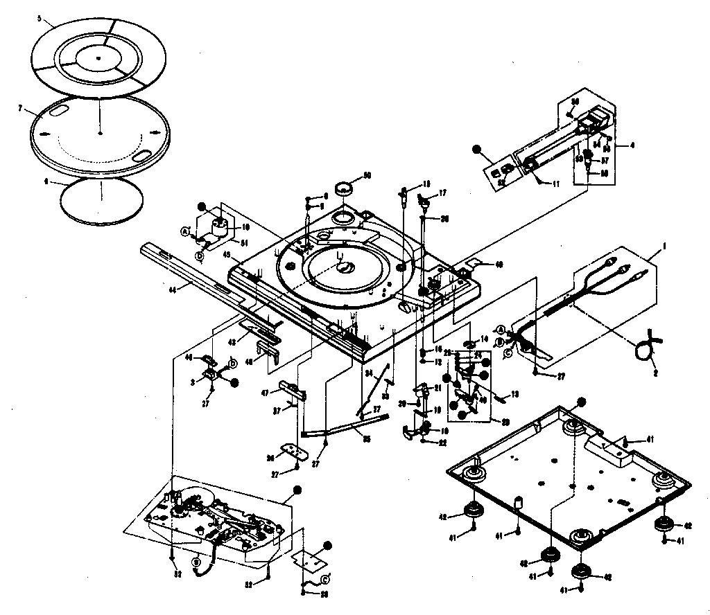 Pioneer radio parts