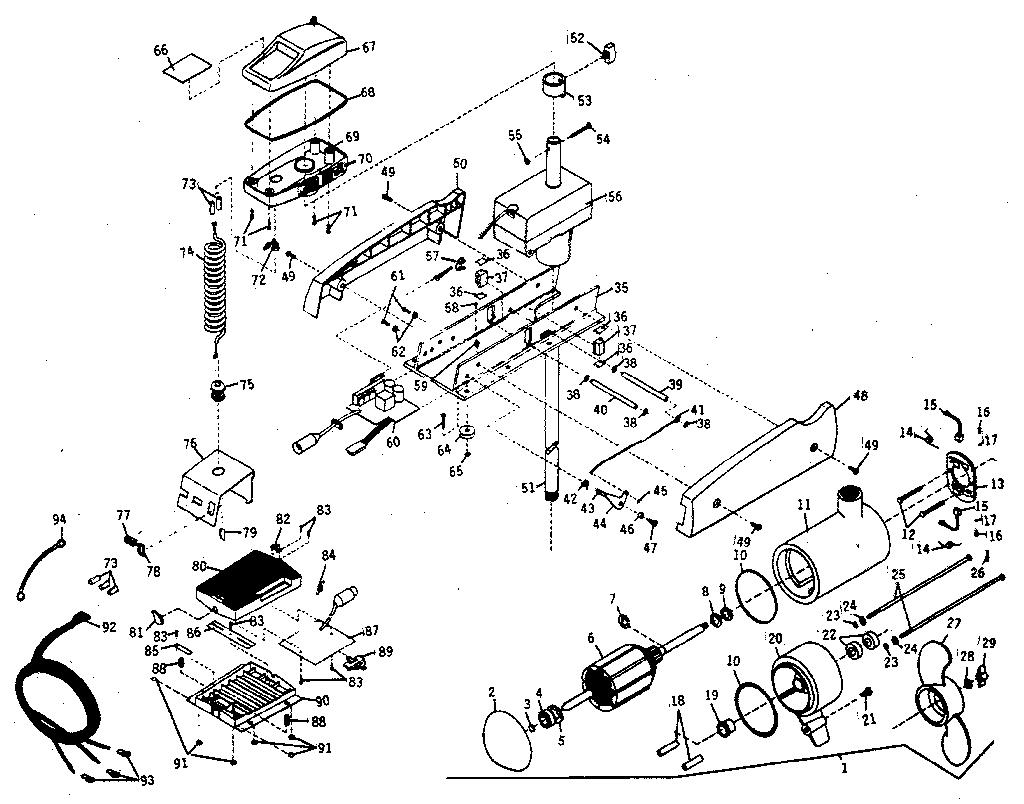 hight resolution of minn kota 799mx unit parts diagram