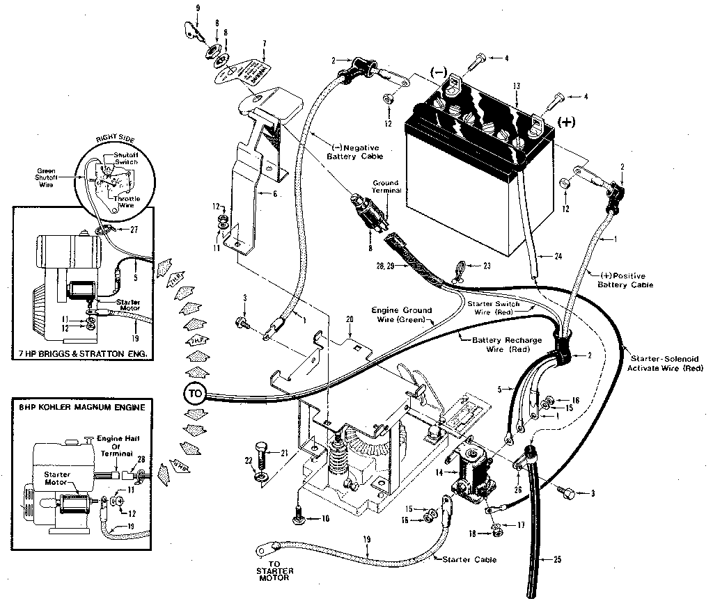 hight resolution of wrg 6786 troy bilt horse tiller wiring diagram tiller wiring diagram