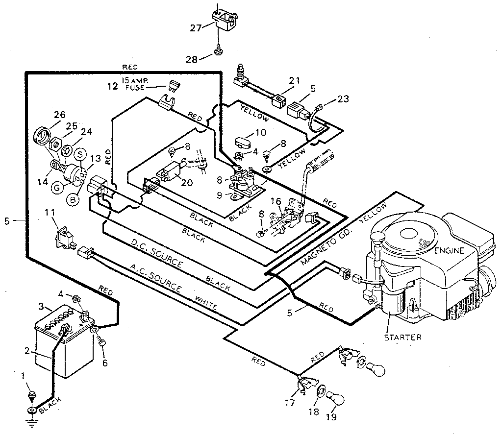 hyundai atos ecu wiring diagram landscape it for yard machine lawn mower - and schematic