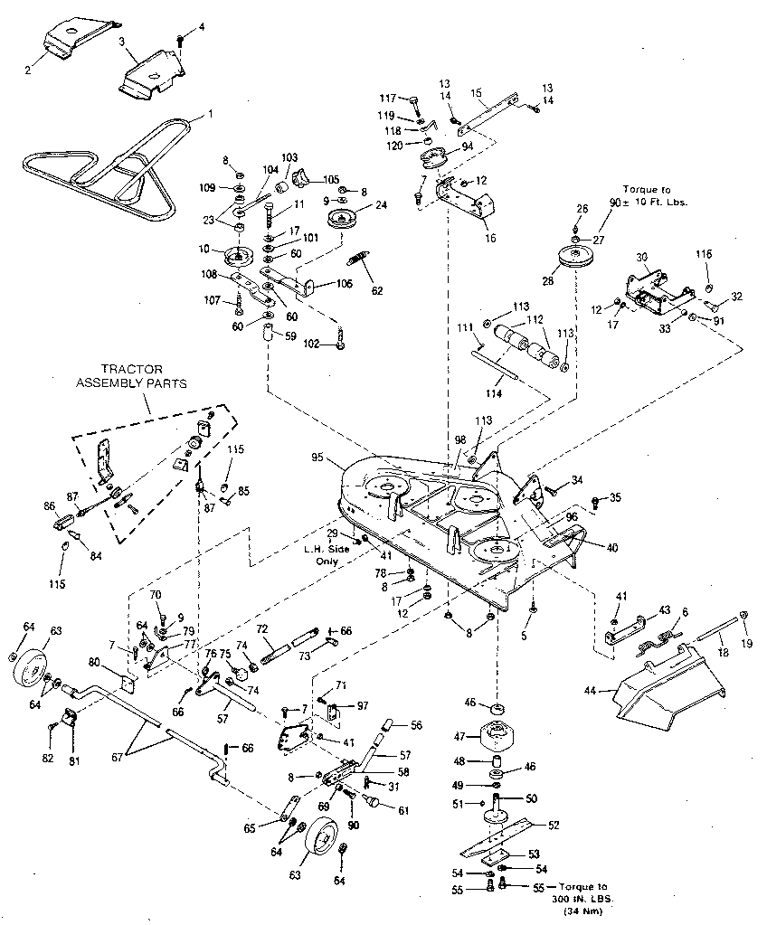 Troy Bilt Pony Belt Diagram
