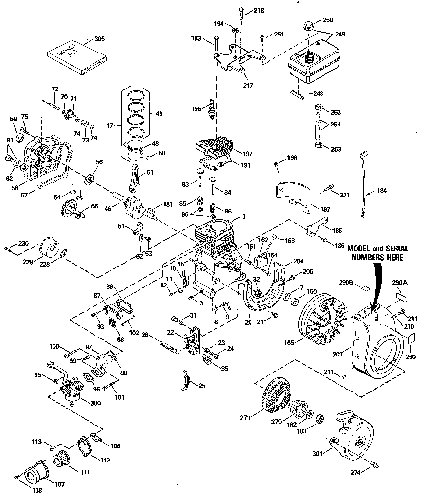 8 Horse Kohler Small Engine Wiring Diagram 18 HP Kohler