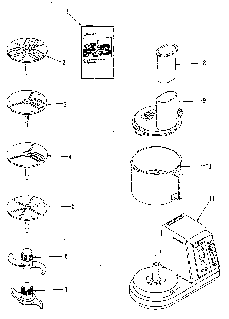 Replacement Parts Diagram And List For Kenmore Food