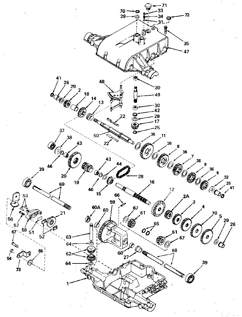 medium resolution of peerles transaxle diagram