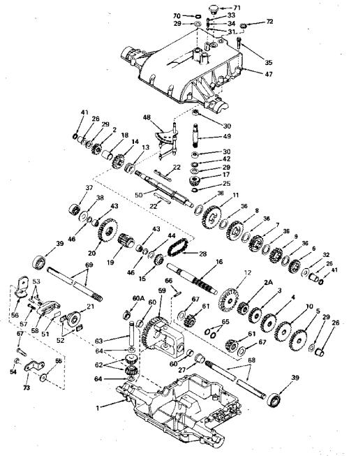 small resolution of peerles transaxle diagram