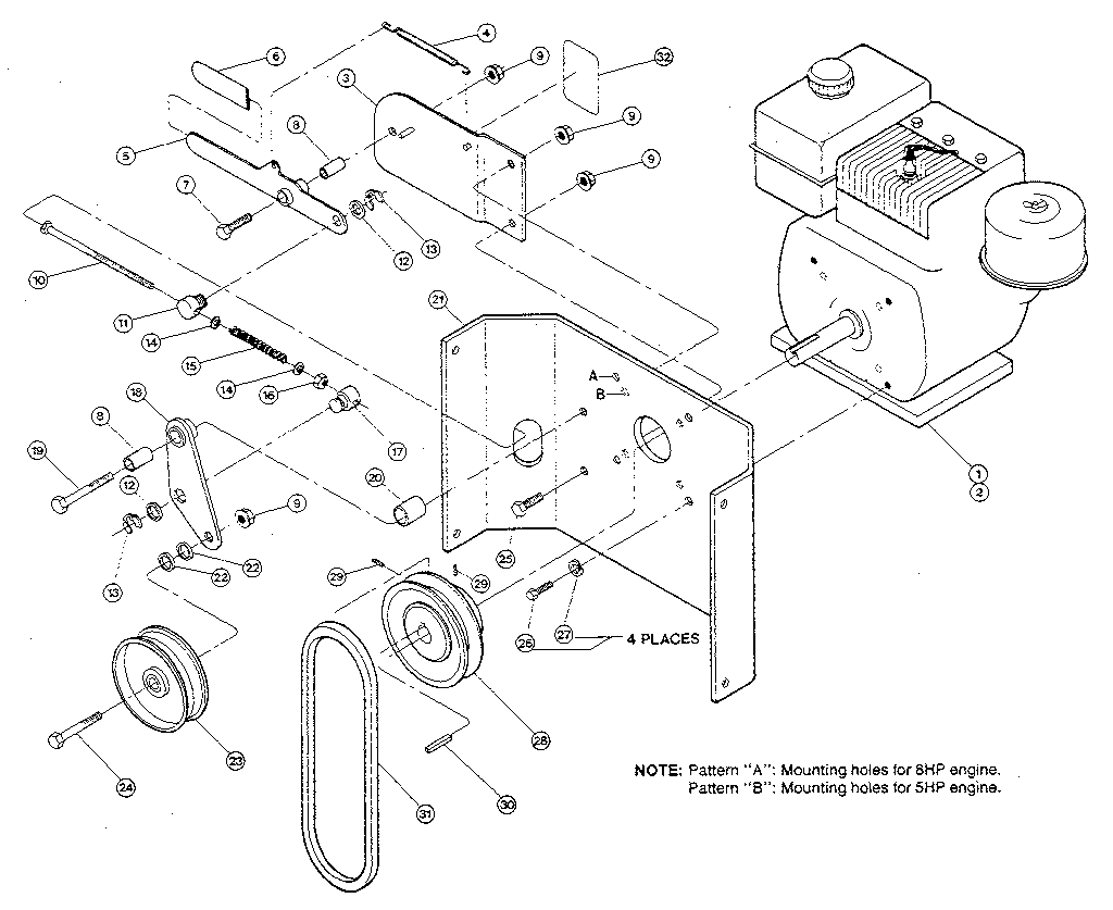 DRAWING SIX Diagram & Parts List for Model