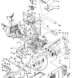 mcculloch pro mac 610 model 13600041 29 general assembly diagram [ 784 x 1024 Pixel ]