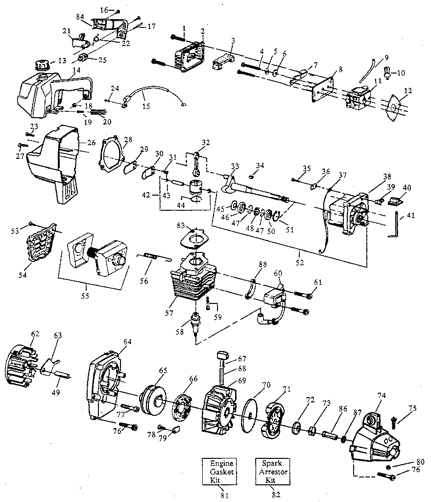 Weed Eater Engine Diagram Kenwood Car Audio Wiring Back