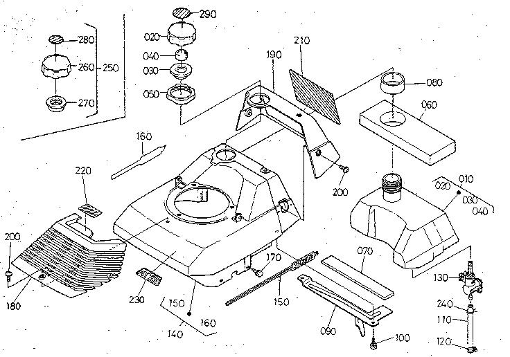 BONNET Diagram & Parts List for Model at25 Kubota-Parts
