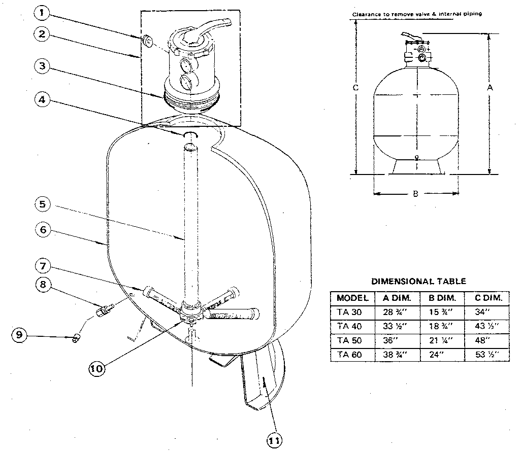 swimming pool sand filter diagram ford focus mk2 towbar wiring pac fab tagelus fiberglass parts model