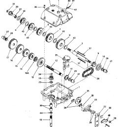 peerles transaxle diagram [ 864 x 1024 Pixel ]