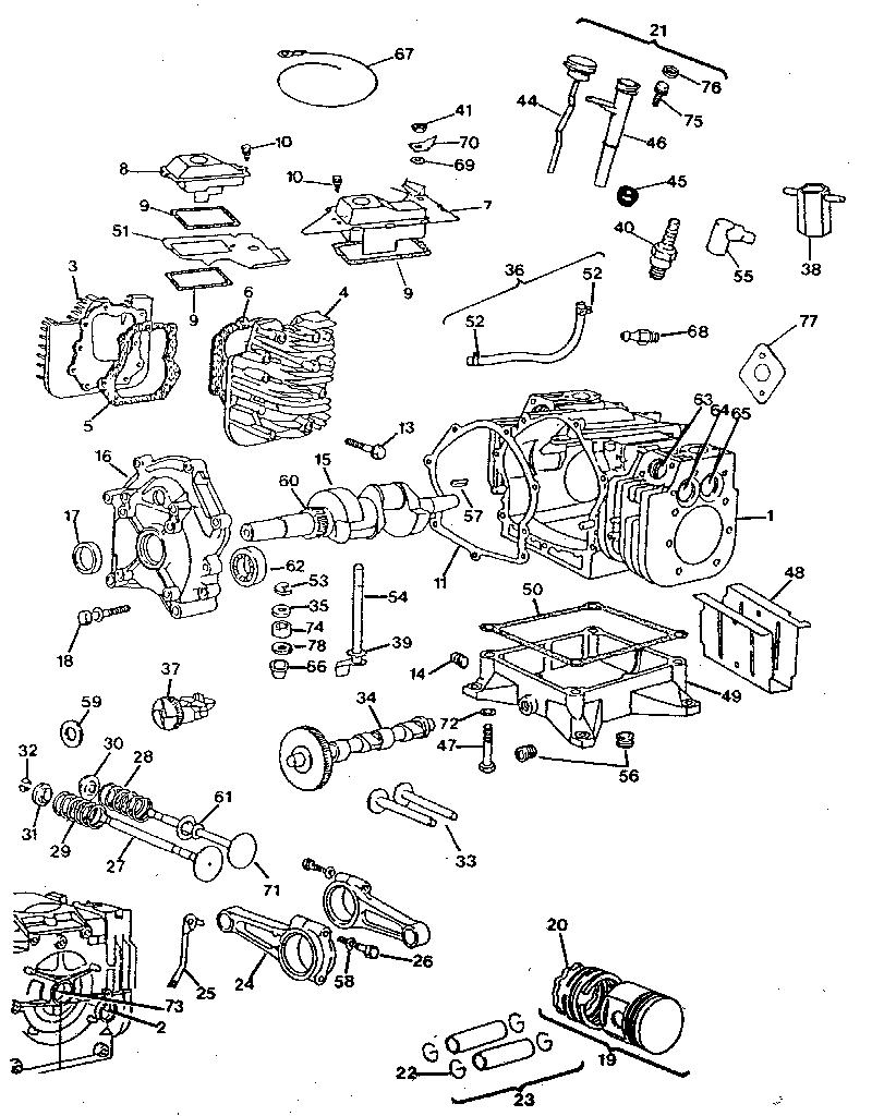 Engine Model Number 422437 Parts, Engine, Free Engine