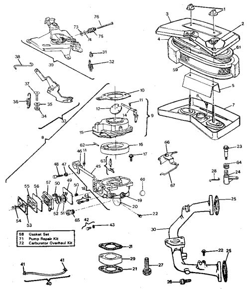 small resolution of 18 hp briggs and stratton parts diagram