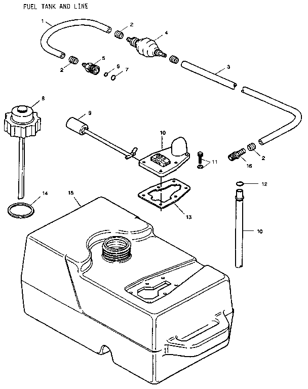 Weedeater Fuel System Diagram, Weedeater, Free Engine