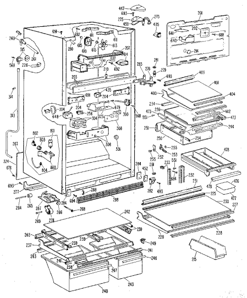 small resolution of diagram also ge refrigerator parts schematic moreover ge refrigerator