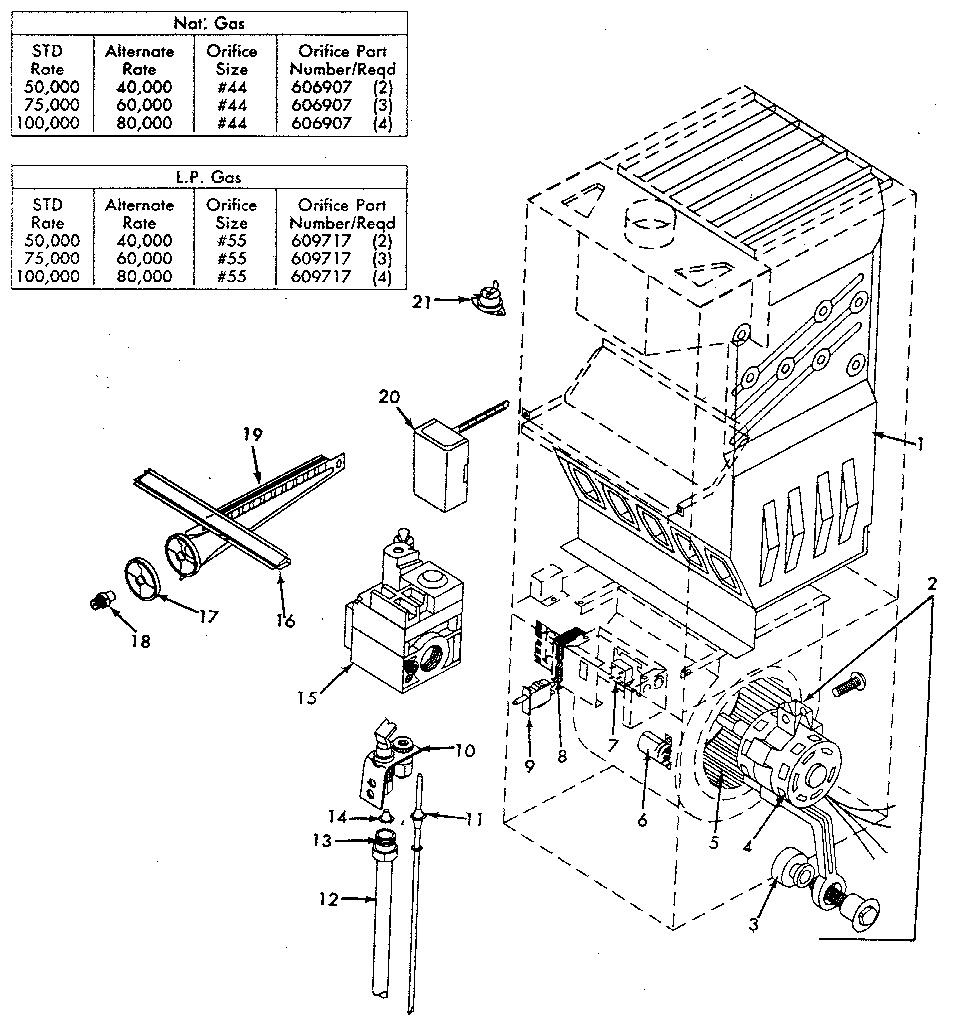 Furnace Parts: York Gas Furnace Parts
