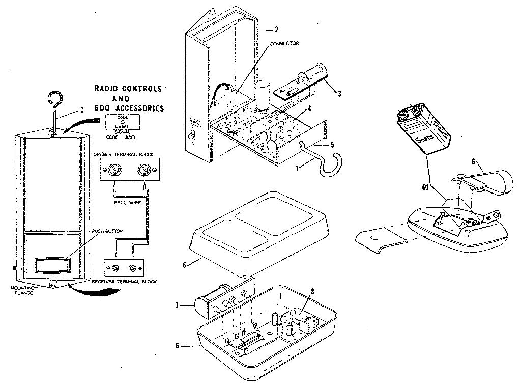 craftsman garage door opener motor wiring diagram engine wiring