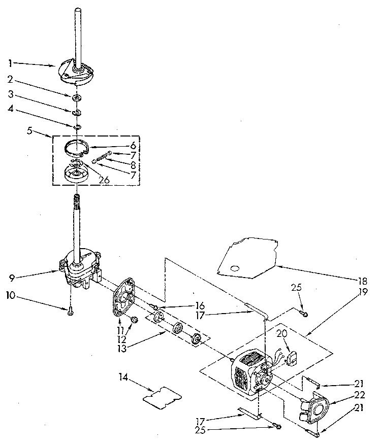 Kenmore 800 Washer Wiring Diagram