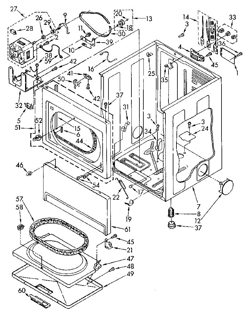 diagram parts list for model 11086984810 kenmoreparts dryerparts