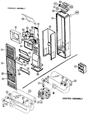 ICP WALL FURNACE Parts | Model CF353 | Sears PartsDirect