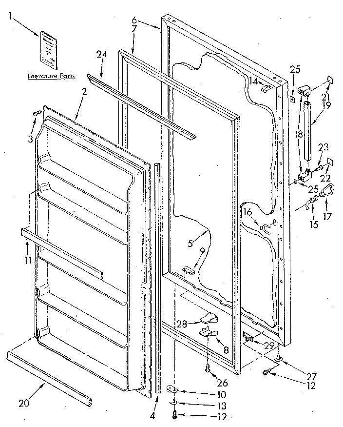 Kenmore Upright Freezer Parts