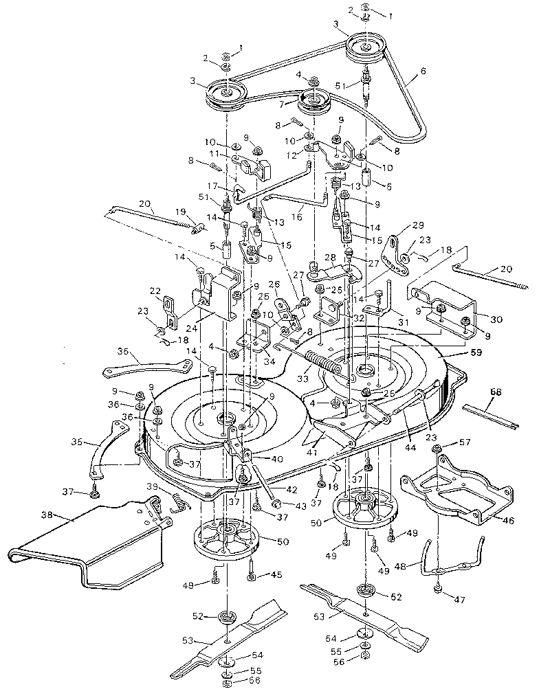 Briggs And Stratton Overhead Valve Engine Diagram