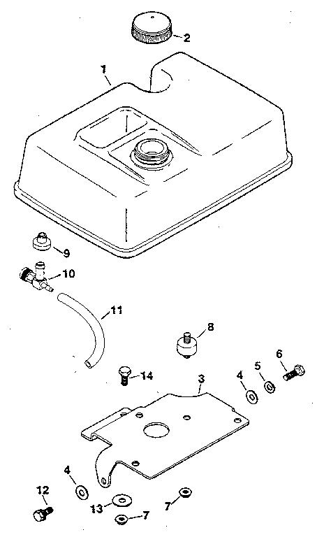 Engine Block Diagram For Kohler K321a