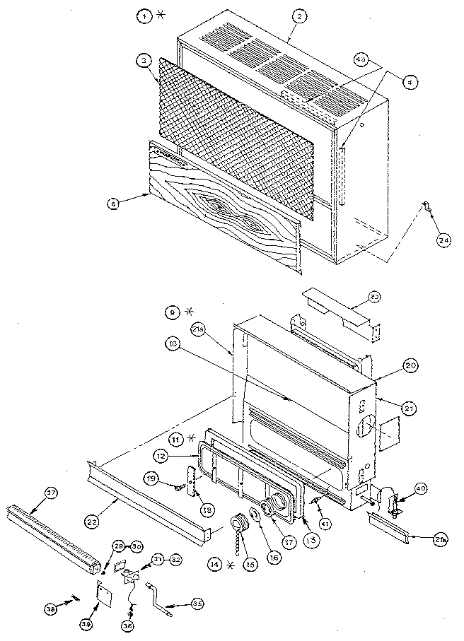 Wall Furnace: Perfection Schwank Wall Furnace