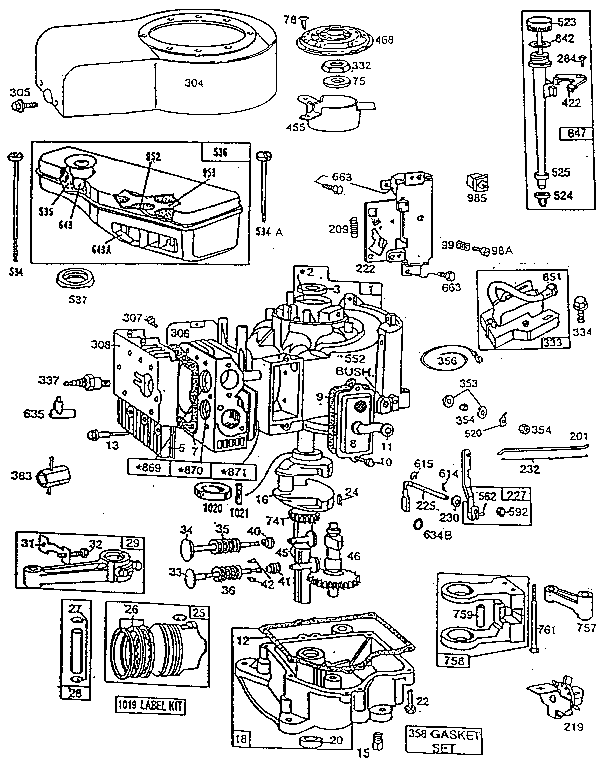 Motor Parts: Briggs And Stratton Motor Parts