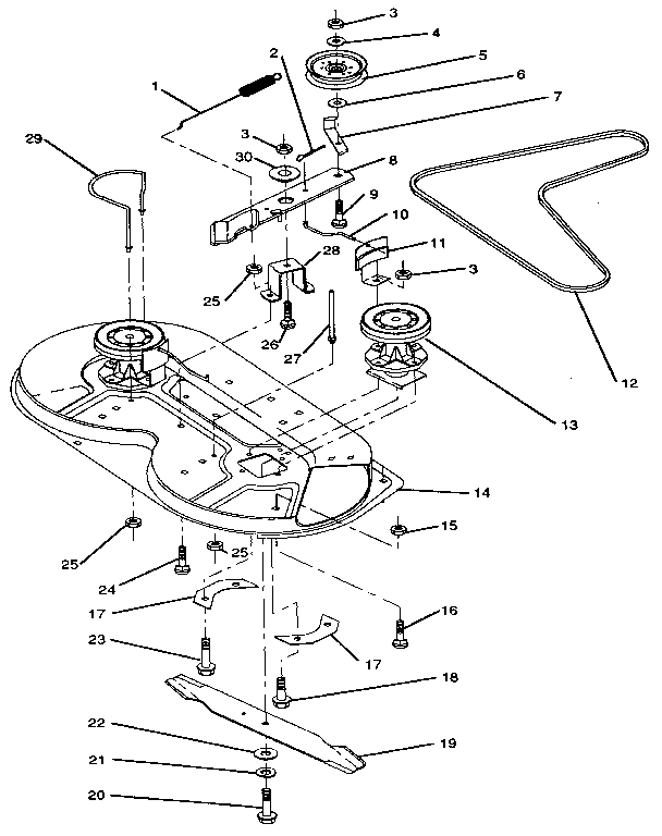 Craftsman Riding Mower Parts Manual