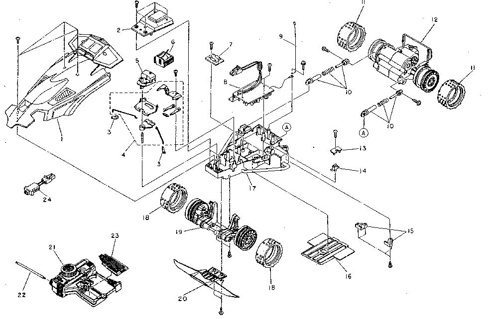 Cars Parts: Nikko Remote Control Cars Parts