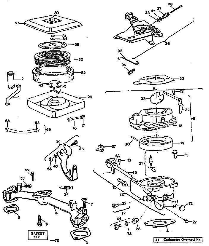 Engine Model Number 422437, Engine, Free Engine Image For