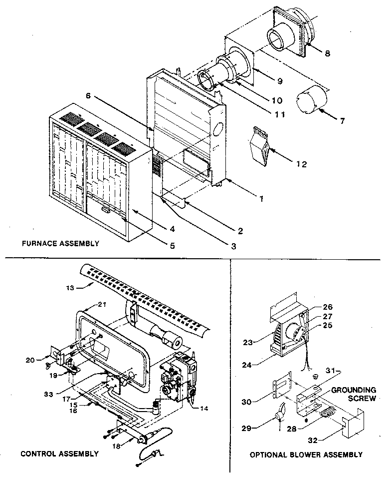 Williams Top Vent Wall Furnace Installation Instructions