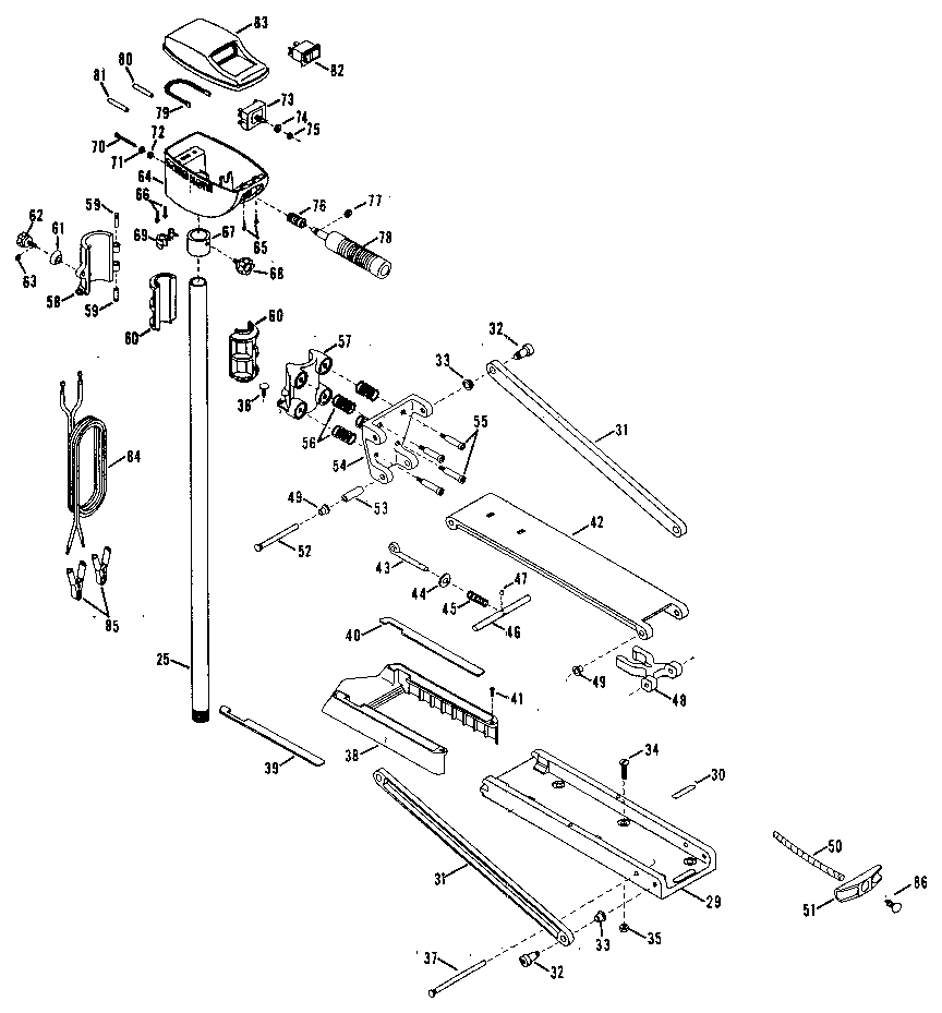 hight resolution of fishing motor diagram and parts list for minn kota boatmotorparts