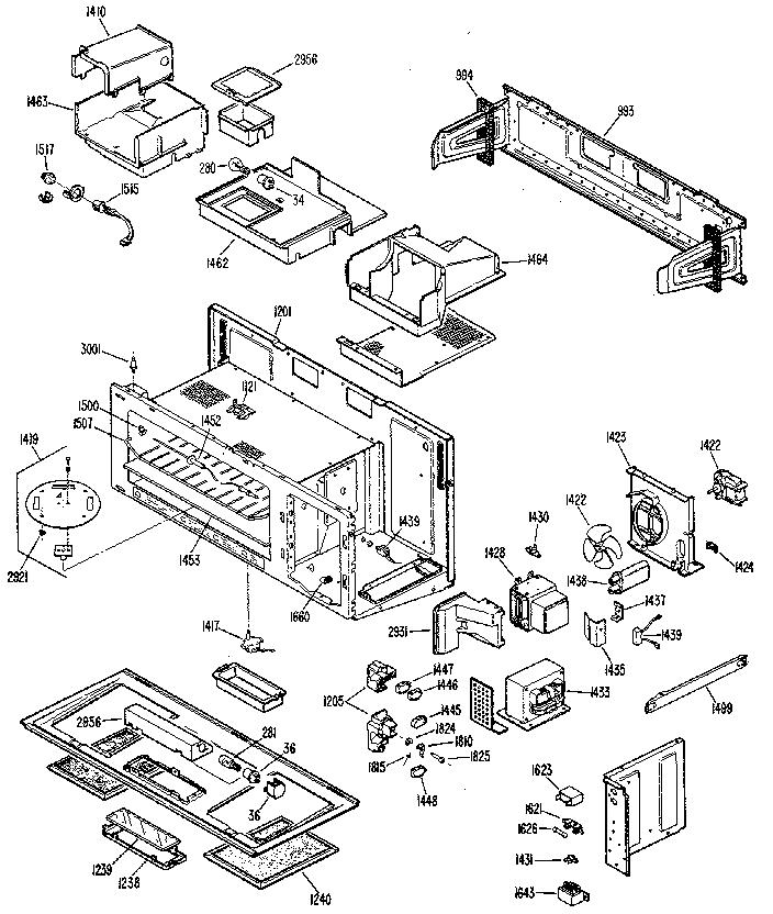 REPLACEMENT PARTS Diagram & Parts List for Model jvm152j01