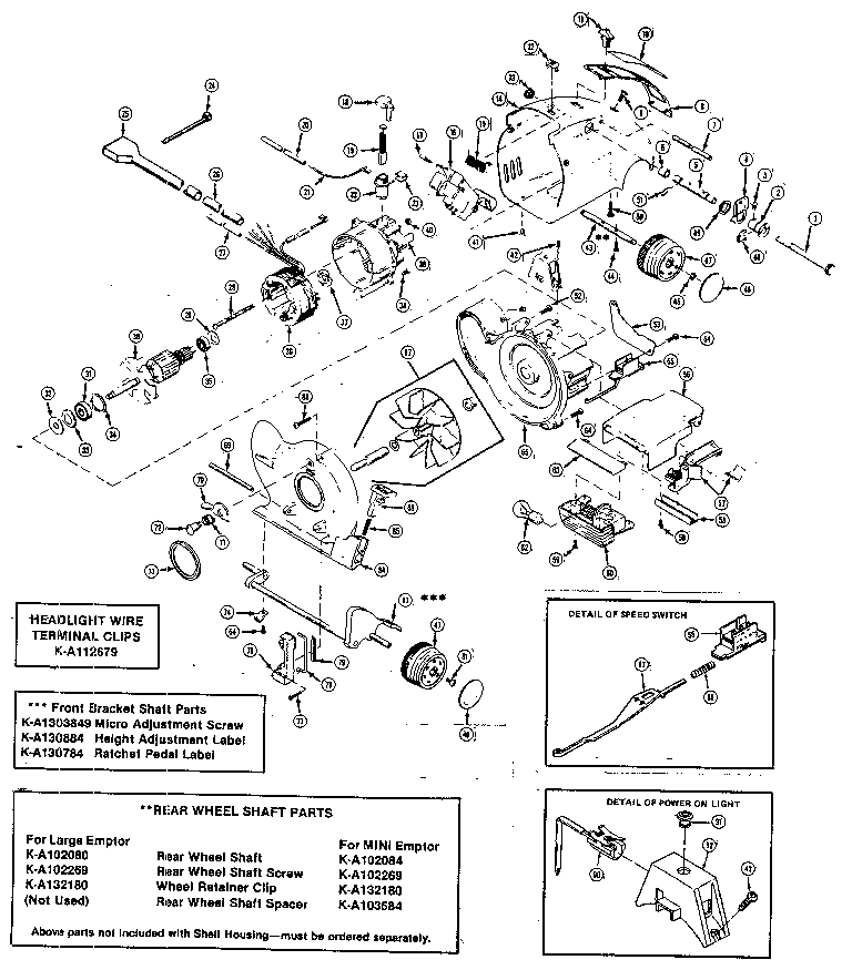Dyson Dc65 Animal Vacuum Parts Diagram