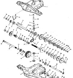 peerles transaxle diagram [ 800 x 1024 Pixel ]