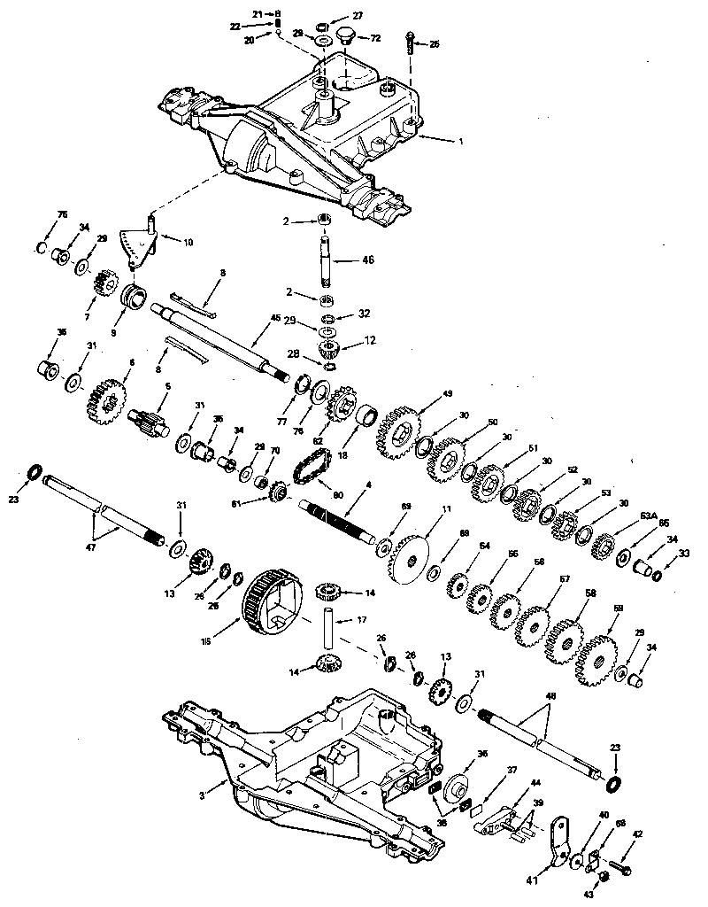 hight resolution of peerles transaxle diagram