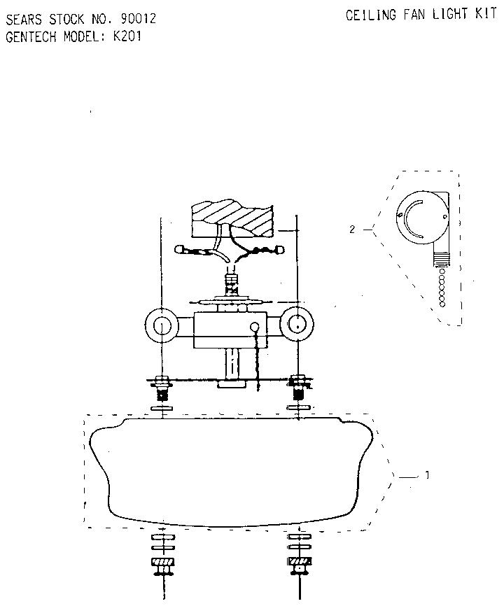 Ceiling Fan Wiring Diagram Sears Roebuck