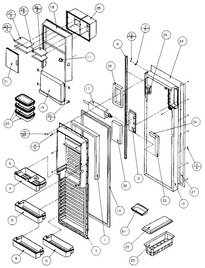 Amana Refrigerator: Amana Refrigerator Parts Manual