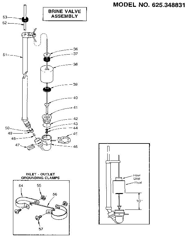 Water Softener: Brine Valve Assembly Water Softener