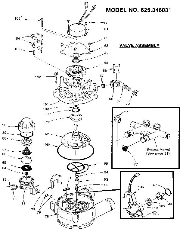 Water Softener: Parts Water Softener Diagram