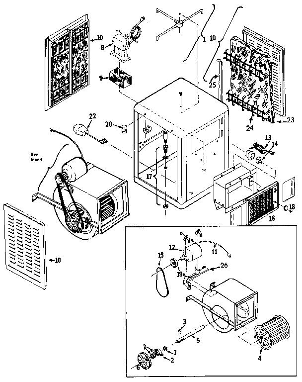 Swamp Cooler: Mastercool Swamp Cooler Parts