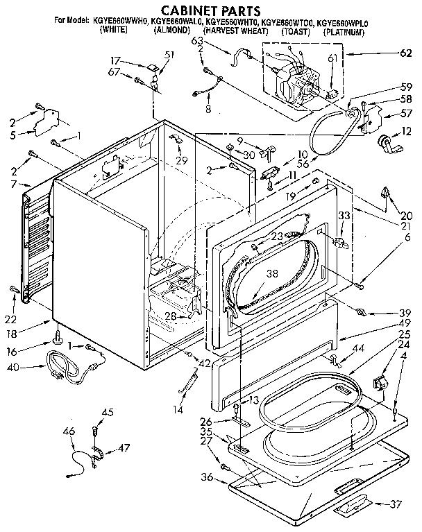 Kitchenaid: Kitchenaid Dryer Parts