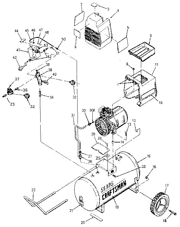 Craftsman 919155730 Air Compressor