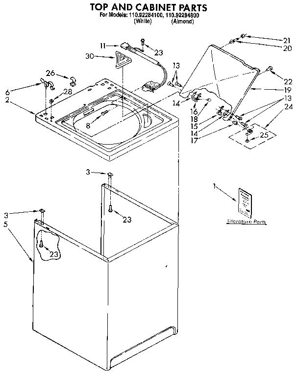 Kenmore 110 Washing Machine Wiring Diagram - Wiring Diagrams on